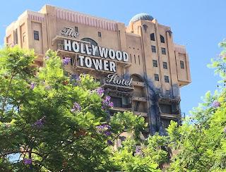 Hollywood Tower Hotel Disney California Adventure