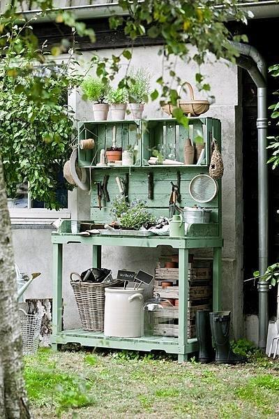 cancelli idee porta giardino ideale : la credenza in giardino ? una cosa che mi ha sempre fatto impazzire ...