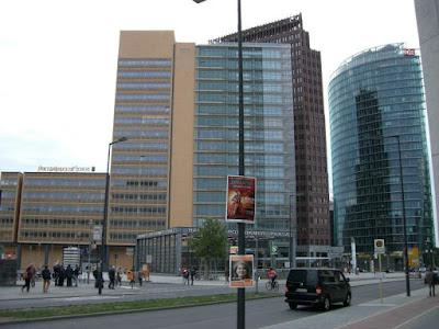 Potsdamerplatz en Berlin