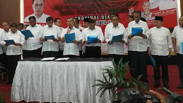 Gubernur Riau Tegur 10 Kepala Daerah yang Deklarasi Pilpres