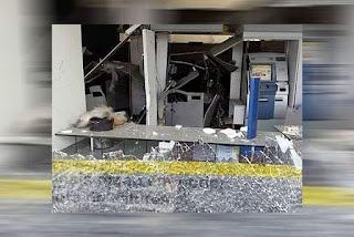 Bandidos explodem mais um banco na Grande João Pessoa