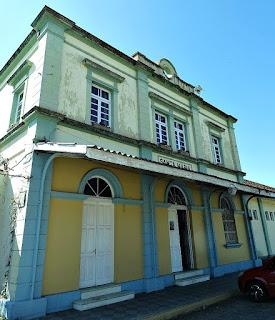 Estação de Trem, Gare ou Estação Férrea de Santa Maria (RS)