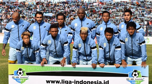 Persela Tetap Waspada Meski Enam Pemain Sriwijaya FC Absen Karena Cedera