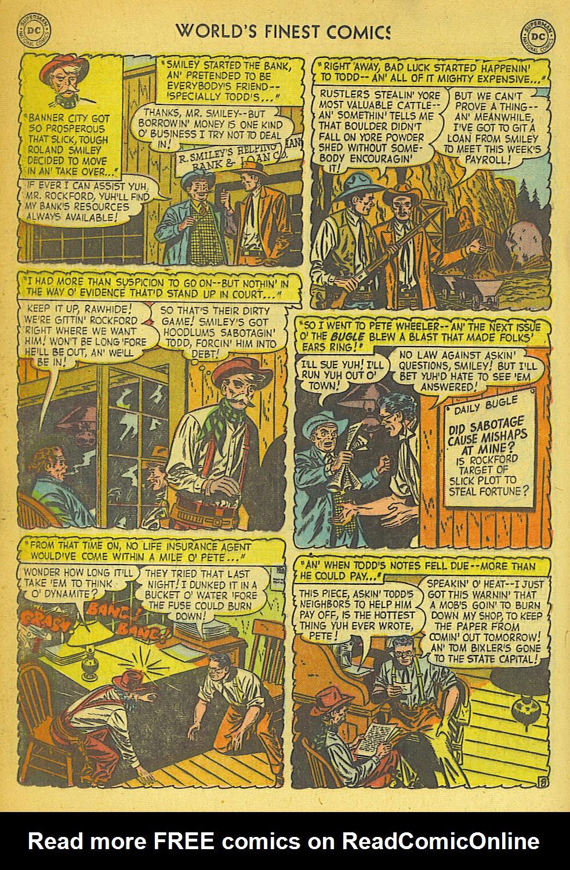 Read online World's Finest Comics comic -  Issue #57 - 36