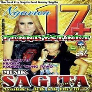 Musik Sagita Ngamen 17+ (2014) Album cover