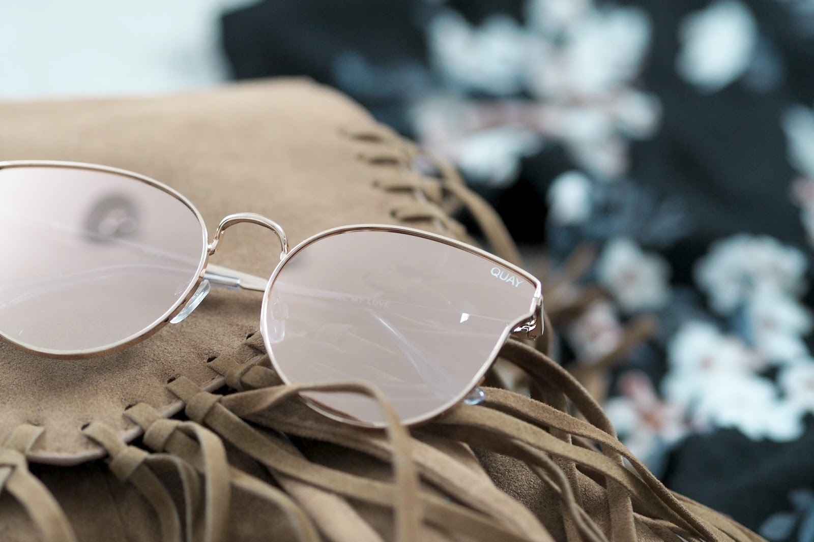 quay australia rose gold sunglasses