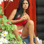 Andrea Rincon, Selena Spice Galeria 21 : Jean Azul y Top Rojo Foto 90