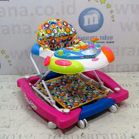 baby walker royal aeroplane