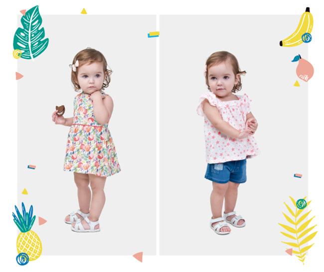 Vestidos moda verano 2018 para niñas.