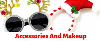 Makeup and Costume related accessories for Christmas