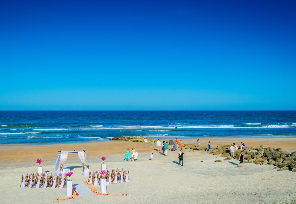 Marineland Dolphin Adventure Wedding Venue