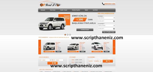 Wordpress Rent A Car Teması İndir
