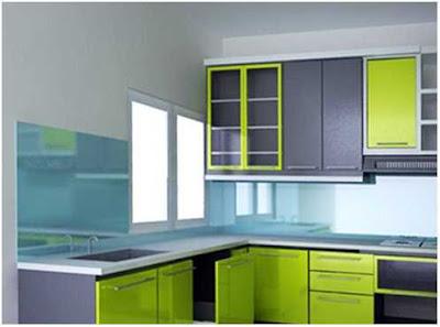 desain dapur minimalis ukuran 2x2 agar terlihat luas