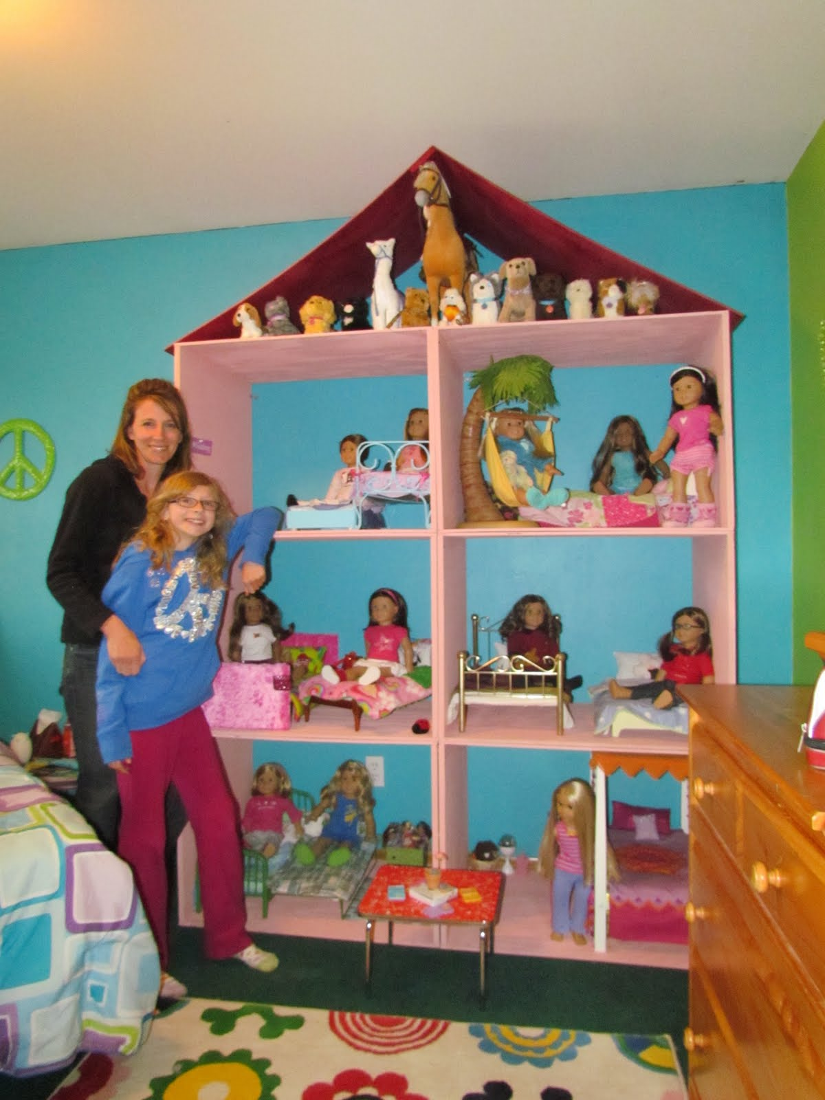 The Dolls House Karen Mom Of Three 39s Craft Blog Want A Doll House For