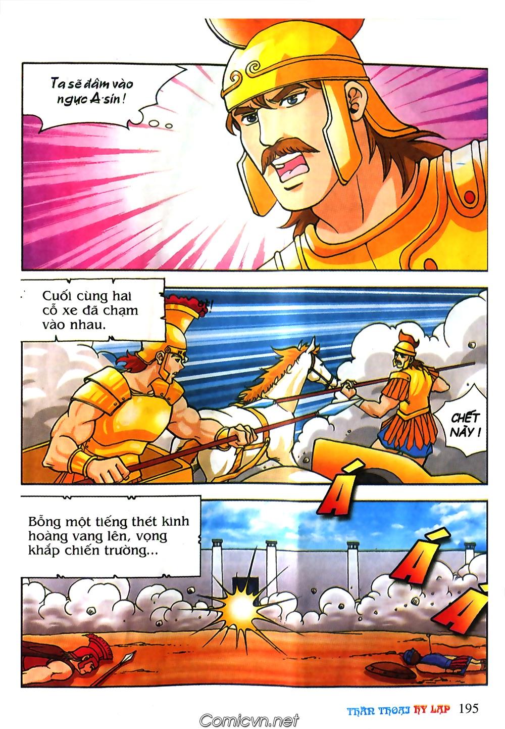 Thần Thoại Hy Lạp Màu - Chapter 61: So tài của hai vị tướng - Pic 24