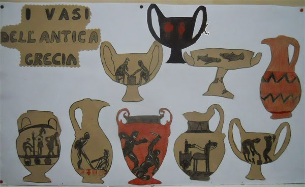 Lozainetto L Arte Presso Gli Antichi Greci I Vasi