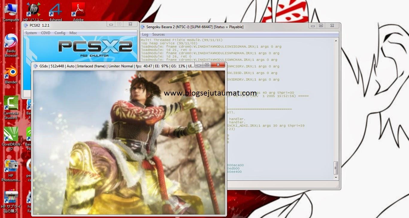 Free Download Emulator PCSX2 + BIOS (Cara Main PS2 di PC) ~ Blog
