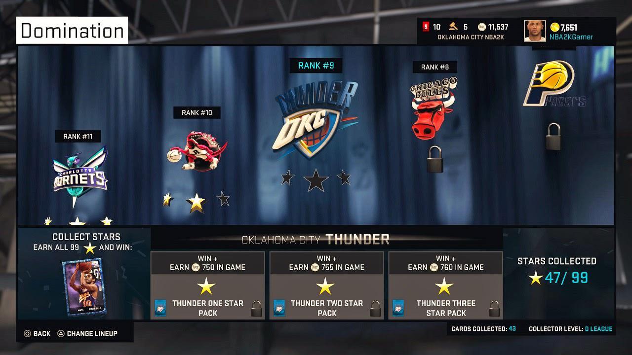 NBA 2K15 MyTEAM Domination