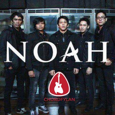 Lirik dan chord Pelangi - Noah