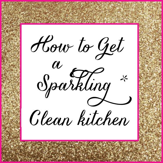 Sparkling Clean Kitchen
