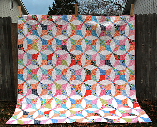 Flowering Snowball Quilt Free Tutorial