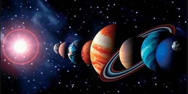 أنواع الكواكب وأسماؤها
