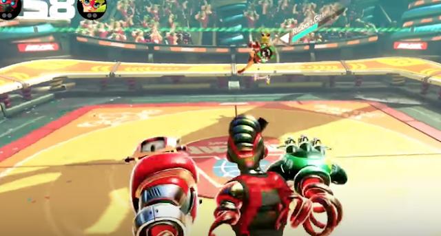 ARMS añade un nuevo personaje, Springtron