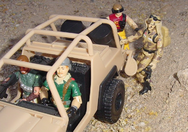 1985 Dusty, 2001 Desert Striker, 1991 Tracker, 1985 Crankcase, 2004 Desert Patrol Ambush