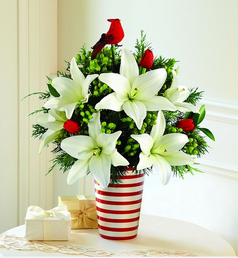 Christmas Flower Arrangements Ideas