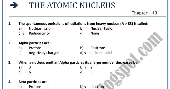 Cbse Class 12 Physics Notes Atoms Nuclei – Fondos de Pantalla