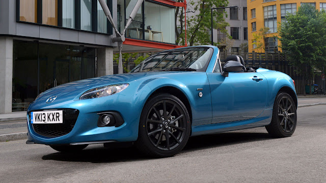 Limited Edition Mazda MX-5 'Sport Graphite' side