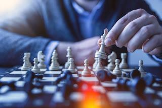 Man Winning Chess