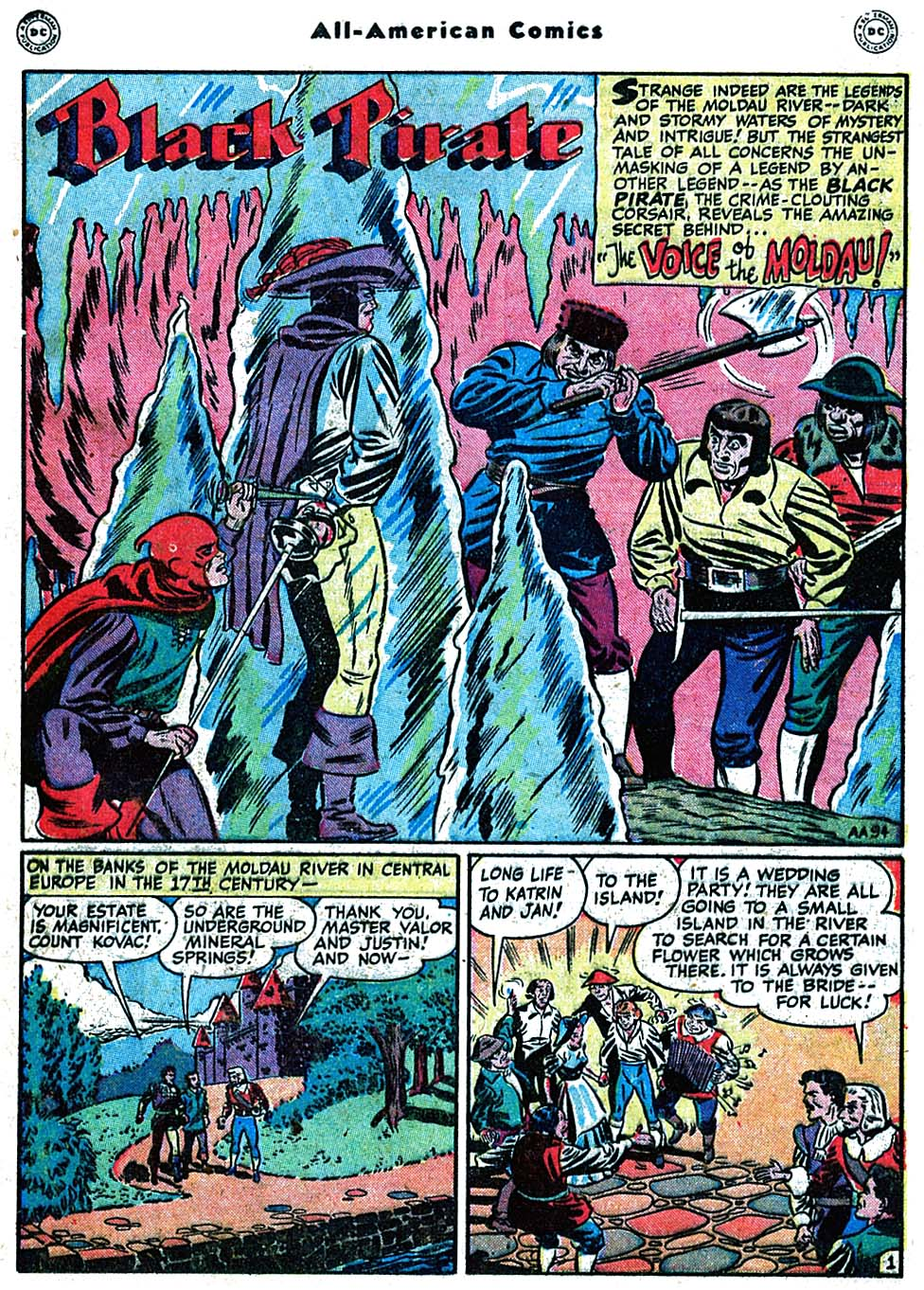 Read online All-American Comics (1939) comic -  Issue #98 - 17