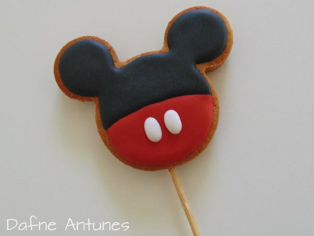 biscoito no palito do Mickey
