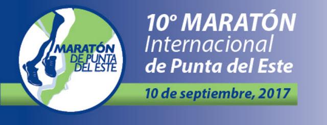42k - 21k - 10k - 5k Maratón internacional de Punta del Este (Maldonado - Uruguay - 10/sep/2017)