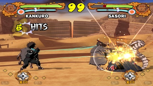 Download Naruto Ultimate Ninja 4 PC Gameplay