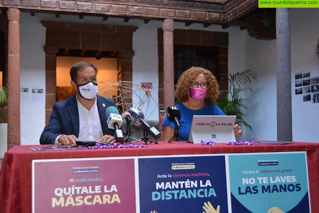 El Cabildo lanza la campaña #LaBuenaNormalidad para prevenir la violencia de género
