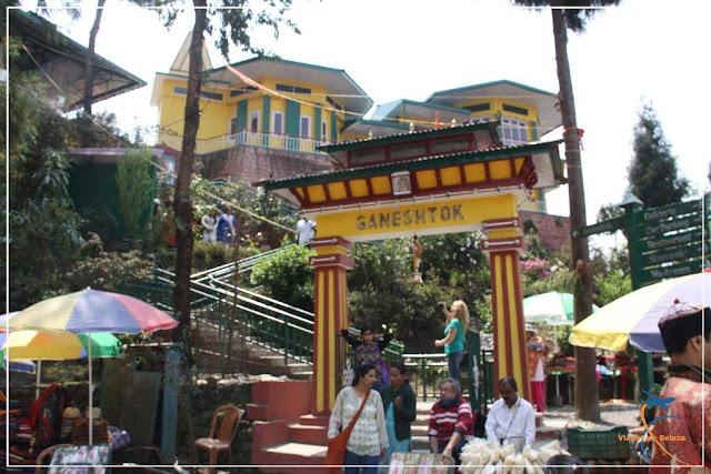 Ganesh Tok - Gangtok - Templo Hindu dedicado à Ganesha - Sikkim - Índia