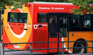 Bio Gas Powered Bus