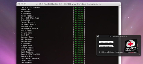 Rootkit Hunter - Rootkit scanning tool
