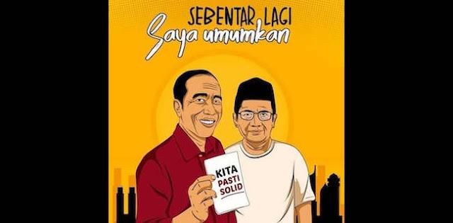 Gerindra-Demokrat Sibuk Soal Kardus dan Baper, Poster Jokowi-MMD Muncul ke Permukaan
