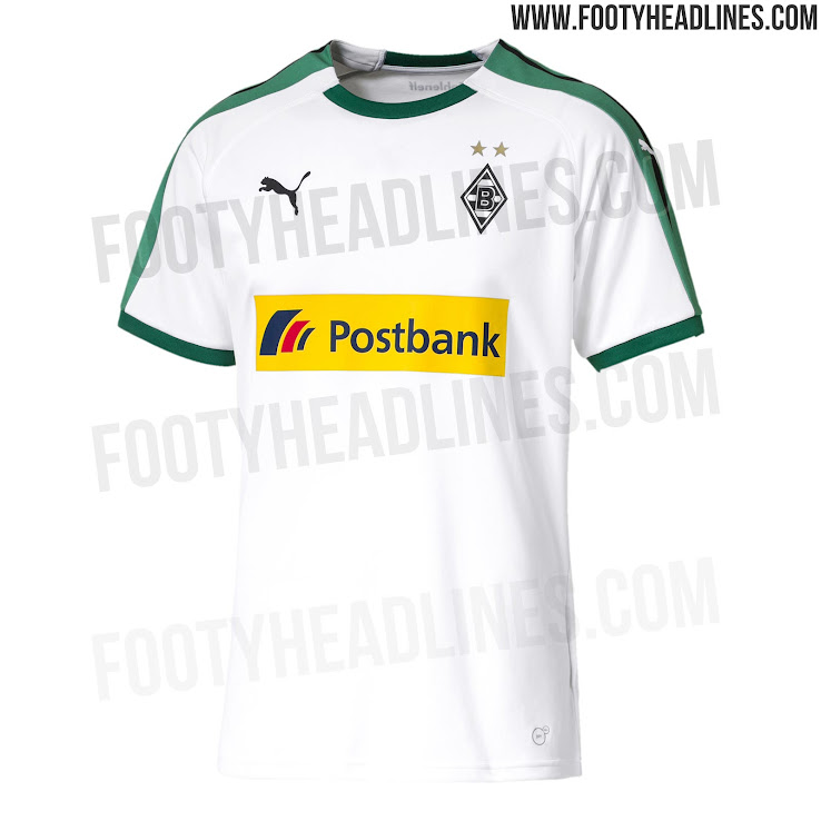 231ea4d8b Puma Borussia Mönchengladbach 18-19 Home