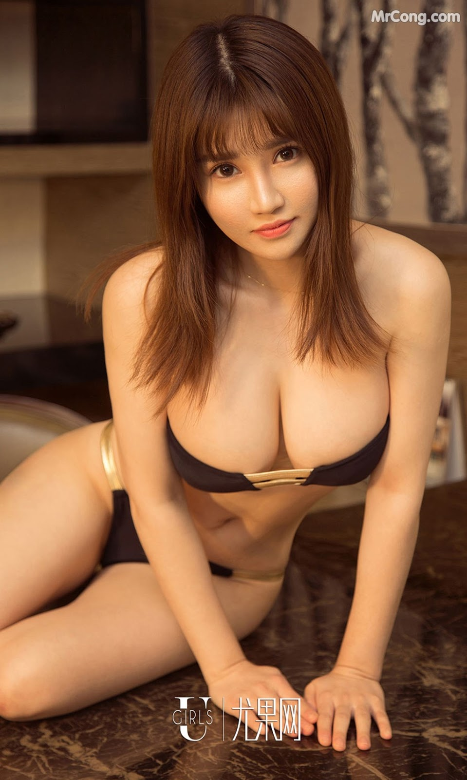 Image UGIRLS-Ai-You-Wu-App-No.1211-Zhou-Da-Meng-MrCong.com-002 in post UGIRLS – Ai You Wu App No.1211: Người mẫu Zhou Da Meng (周大萌) (35 ảnh)
