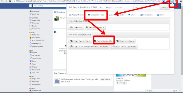 Join Multi Facebook Groups at once  Extract Group IDs