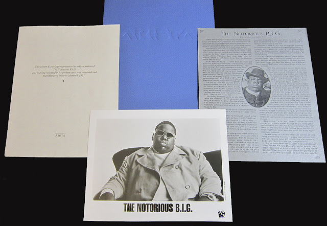 The Notorious B.I.G. Biggie Smalls Life After Death Press Kit March 1997