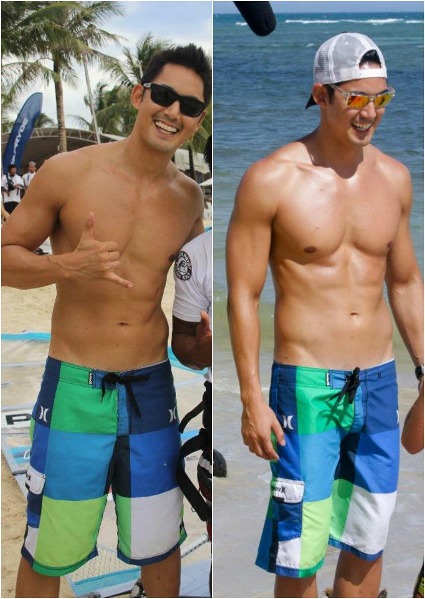Miong21 @ Blogspot: Shirtless Marc Nelson at Bahari