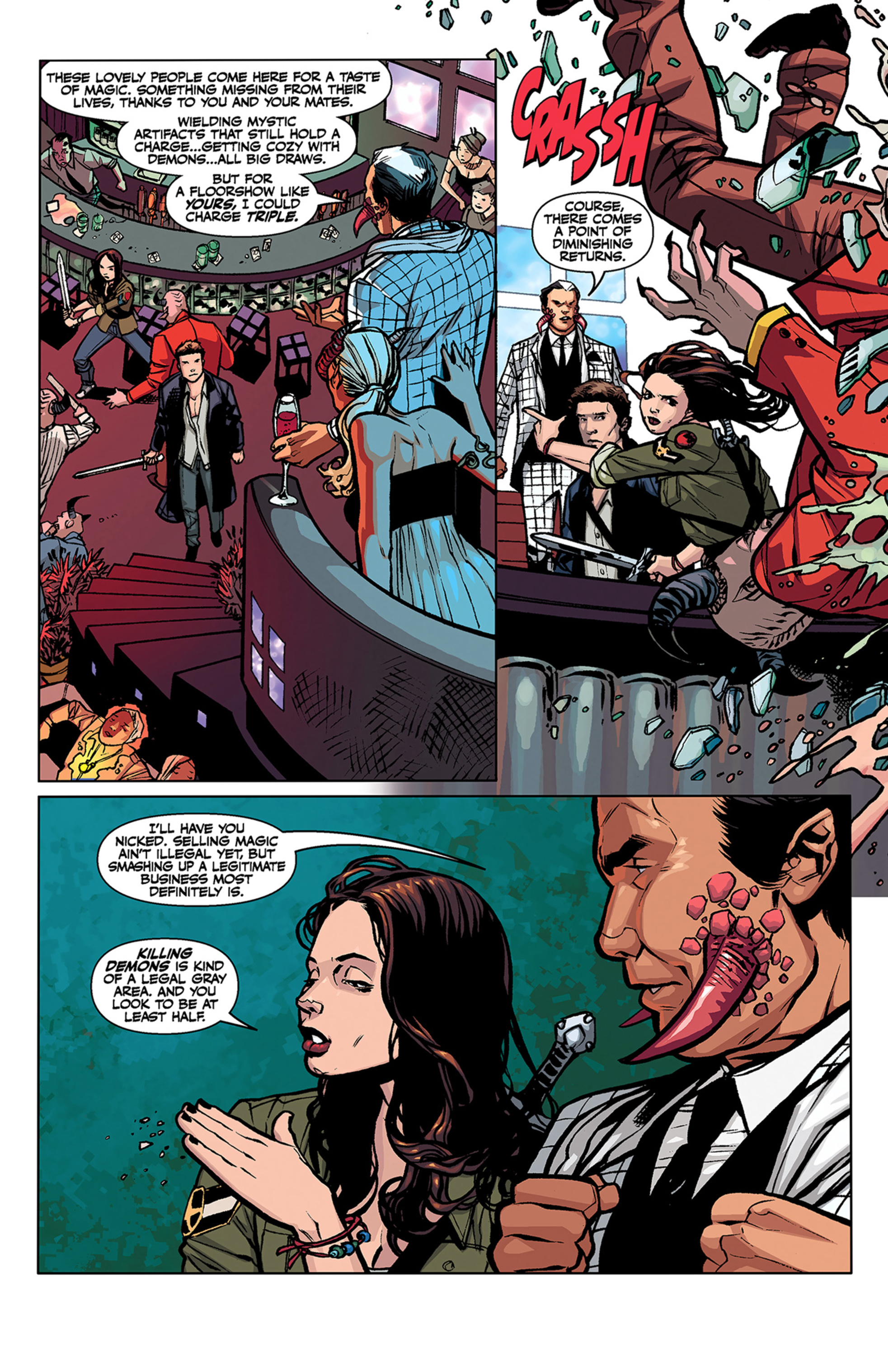 Read online Angel and Faith comic -  Issue #3 - 5
