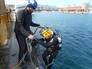 I sommozzatori in servizio locale esercitano la loro attività entro l'ambito del porto presso il cui ufficio sono iscritti e nelle adiacenze