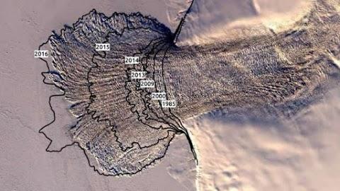 Szélsőségen és váratlanul felgyorsult az Oroszország északi-sarki területein lévő Vavilov-jégsapka olvadása