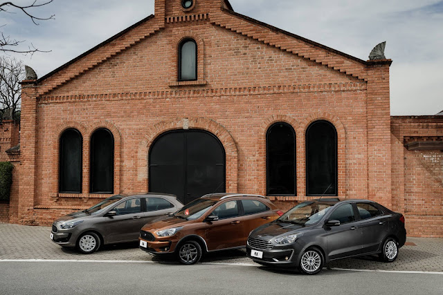 Novo Ford Ka 2019 Automático